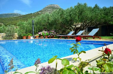 Ferienhaus Vojo - private swimming pool: H(4) Bol - Insel Brac  - Kroatien